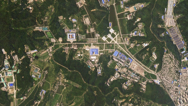 A satellite image shows the Sanumdong missile production site in North Korea on July 29 2018. Picture: PLANET LABS INC/ HANDOUT VIA REUTERS
