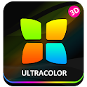 Next Launcher Theme UltraColor icon