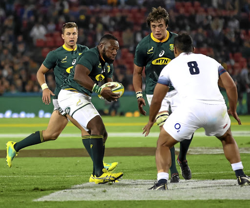 Milestone Test: Springbok prop Tendai Mtawarira, in action in the first Test last Saturday, is due to earn his 100th cap when the Boks face England in Bloemfontein on Saturday. Picture: GALLO IMAGES/GORDON ARONS