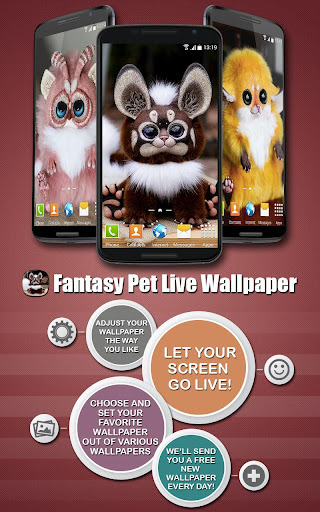 Fantasy Pet Live Wallpaper
