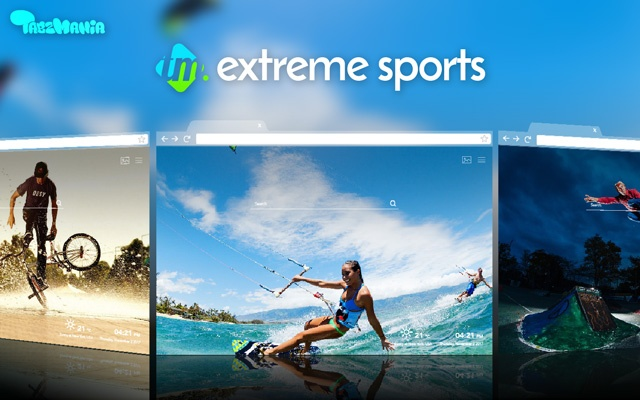 HD Xtreme Sports New Themes Tab
