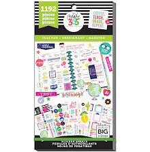 Me & My Big Ideas Happy Planner Sticker Value Pack - Sweet Life Teacher