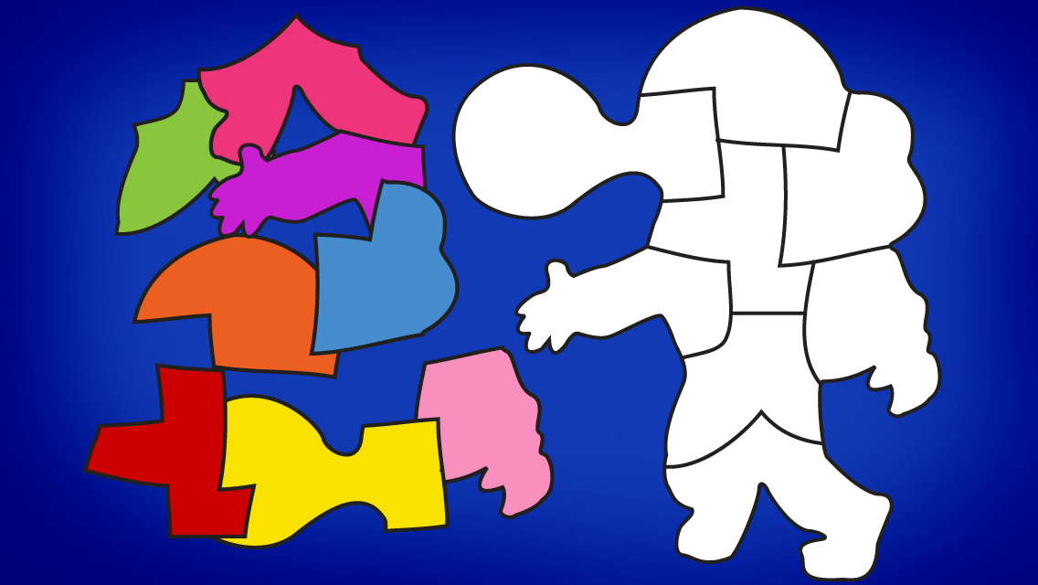 Shape Builder Preschool Puzzle- screenshot