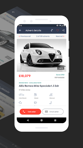 Auto Trader - New & used car deals. Buy & sell now 5.1 screenshots 1