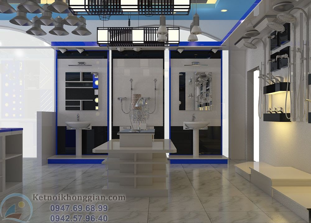 thiết kế cửa hàng thiết bị vệ sinh chuyên nghiệp