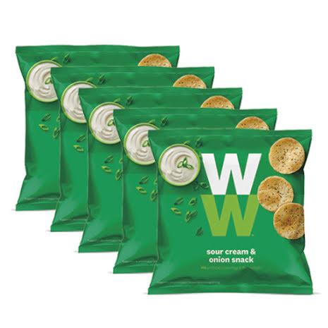 Chips med smak av gräddfil och lök - 24-pack, 480g
