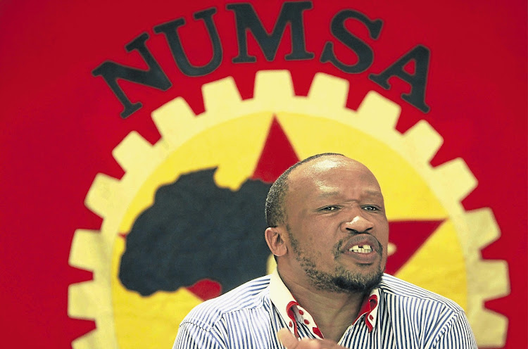Numsa general secretary Irvin Jim called for public support of the Fees Must Fall students.