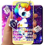Galaxy Unicorn Keyboard Theme Icon