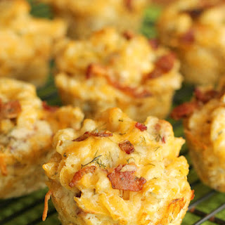 Ranch Bacon Mac and Cheese Cups.