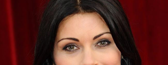 Alison King gives Corrie co stars massages