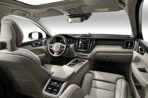 The interior offers all that elegant Swedish design together with good space and equipment. Picture: QUICKPIC