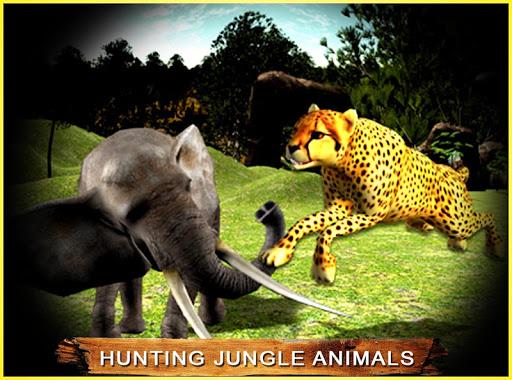 狩獵叢林動物