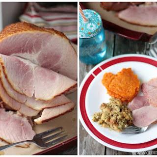 Maple Mustard Glazed Ham
