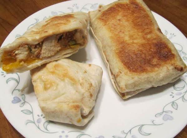 Baked Chicken Burritos