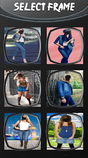 Denim módní foto montáž - náhled