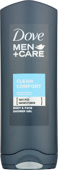 Dove Men Plus Care Body and Face Wash - Clean Comfort, 250ml