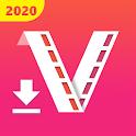 Fast & Free 4K Video Downloader - Status Saver icon