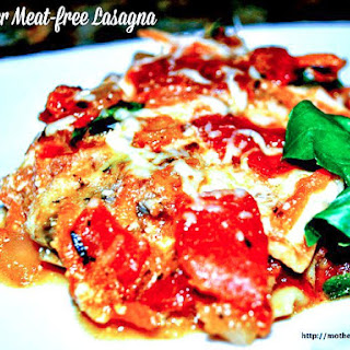 Diet Friendly Lasagna, Modified from the New York Times.