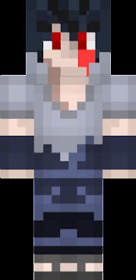 Sasuke Uchiha Nova Skin - Skin para minecraft pe de sasuke