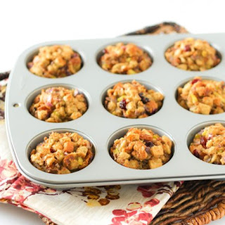 Lighter Stuffing Muffins Recipe