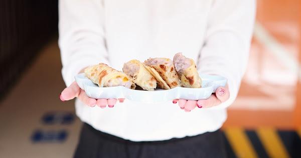 捲餅咬鹿|台北中山區|初鹿鮮乳,碰上手工捲餅,大份量的扎實餐點