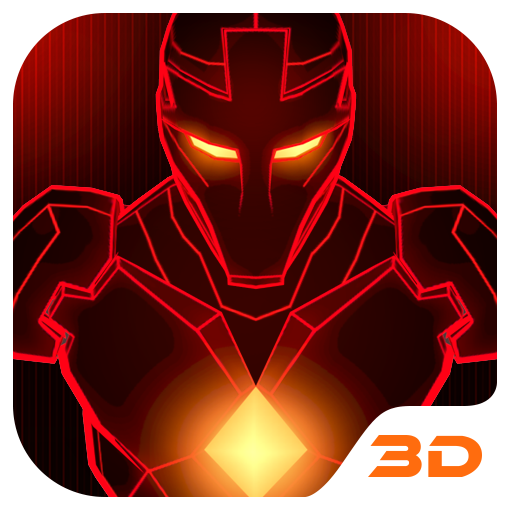 Red Iron Hero 3D Theme app (apk) free download for Android/PC/Windows