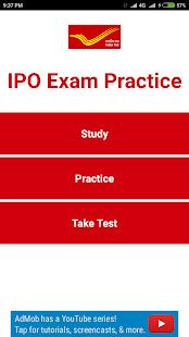IPO Exam Practice - náhled