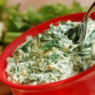 Spinach and Artichoke Dip.