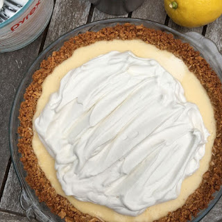 Lemon + Coconut Cream Pie