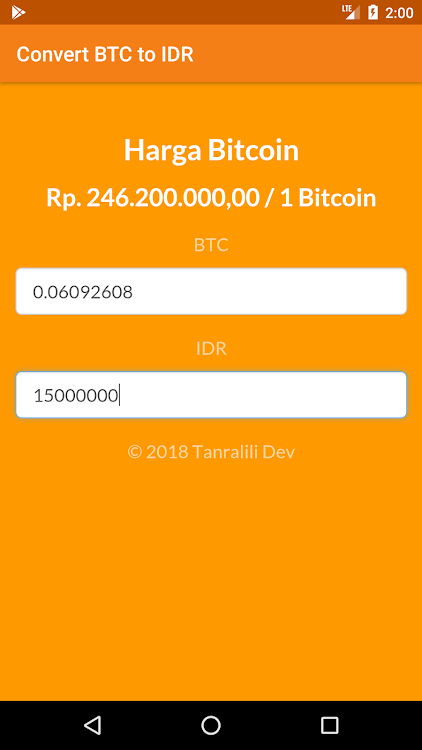 BTC to IDR – (Android Apps) — AppAgg