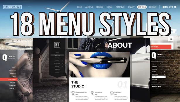 Q Creative - The HTML5 Template - 9