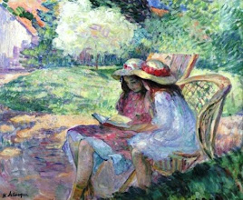 "Photo: Henri Lebasque, ""Due ragazze che leggono"" (1900)"