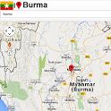 Mandalay map icon
