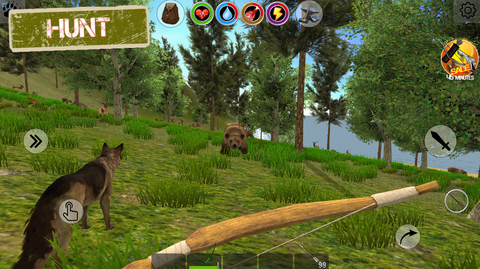 Rustland last day survival and craft island 3d android for Survival fishing games