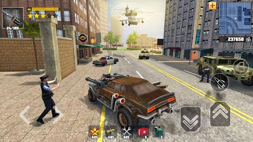 Code Triche Grand Street Wars: Open World Simulator APK MOD (Astuce) screenshots 1
