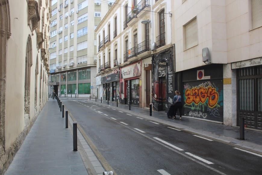 Calle General Tamayo.