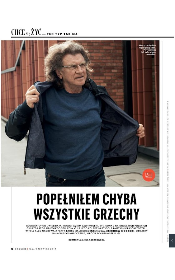 Esquire Polska- screenshot