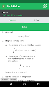 Math Helper - Algebra Calculus v4.0.1