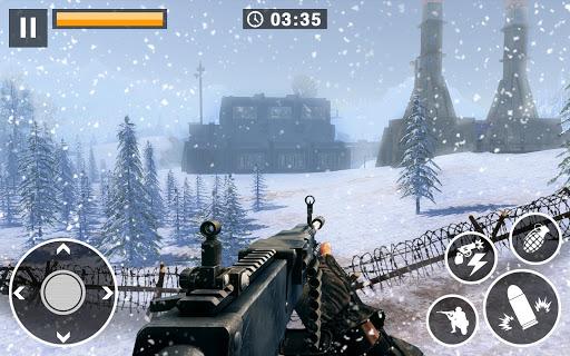 Appel u00e0 la guerre - Snipers de survie en hiver WW2 captures d'u00e9cran 2
