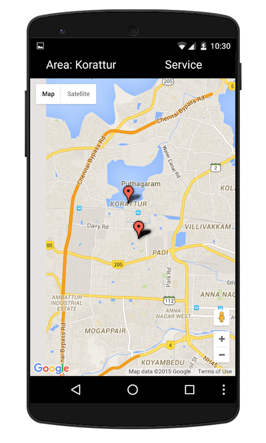 iVolunteer for Chennai- screenshot