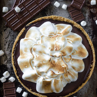 No Bake Smores Pie