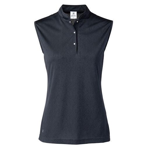 Daily Sports Uma Cap Polo Shirt Navy