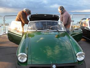Photo: La chapka, une bonne idée pour faire une sortie organisée par les givrés de l'Automobile Club de Nice !