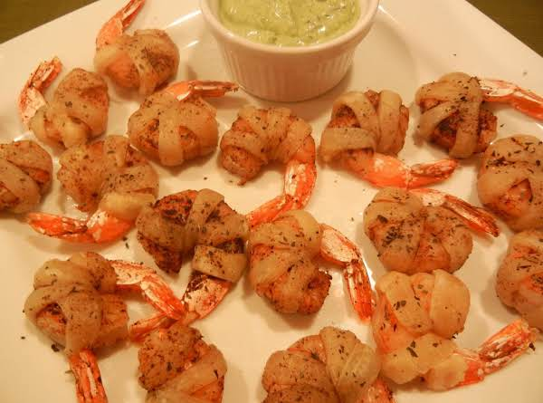 These Shrimp Are An Elegant-looking Sporty Snack, But Are So Easy To Make Using Store-bought  Puff Pastry, And The Dipping Sauce Is A Snap Blended Quickly In A Small Food Processor.