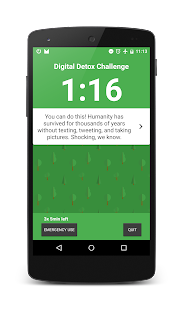 Digital Detox Challenge- screenshot thumbnail