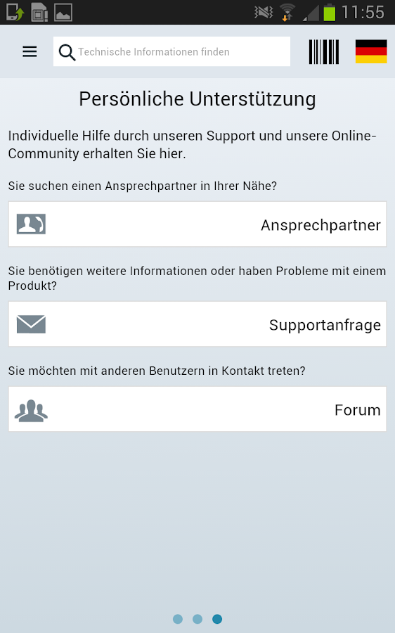 Industry Online Support- screenshot