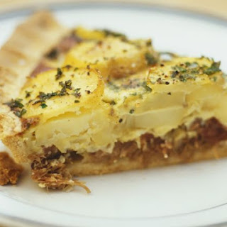 Duck Confit Potato Tart
