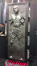 Photo: Floor - Han in carbonite; if you have the $ you can buy this from Sideshow Collectibles