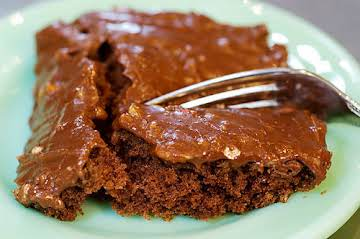 The Best Chocolate Sheet Cake. Ever.