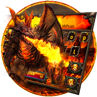 Red Fire Dragon Keyboard Theme 10001003 Hileli Apk Indir Mod Download